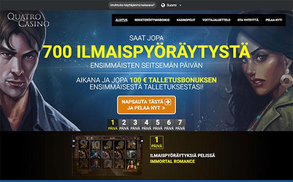 Quatro Casino Suomi