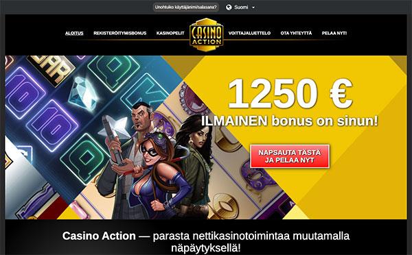 Casino Action Suomi
