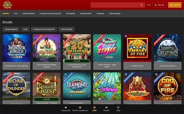 Golden Tiger Casino Suomi