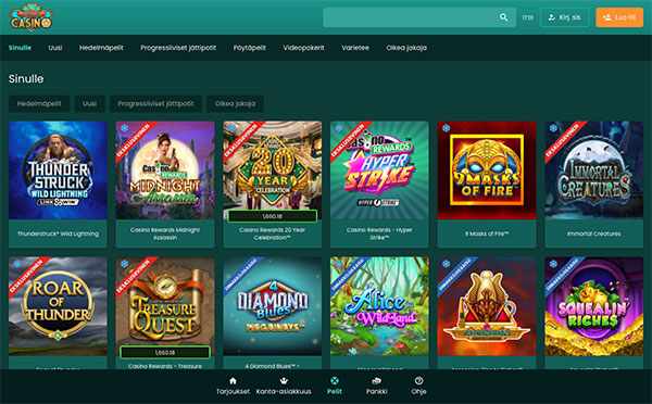 Nostalgia Casino Suomi